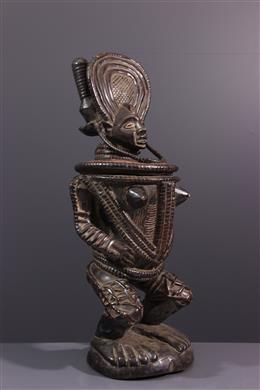 Coupe anthropomorphe Chokwe