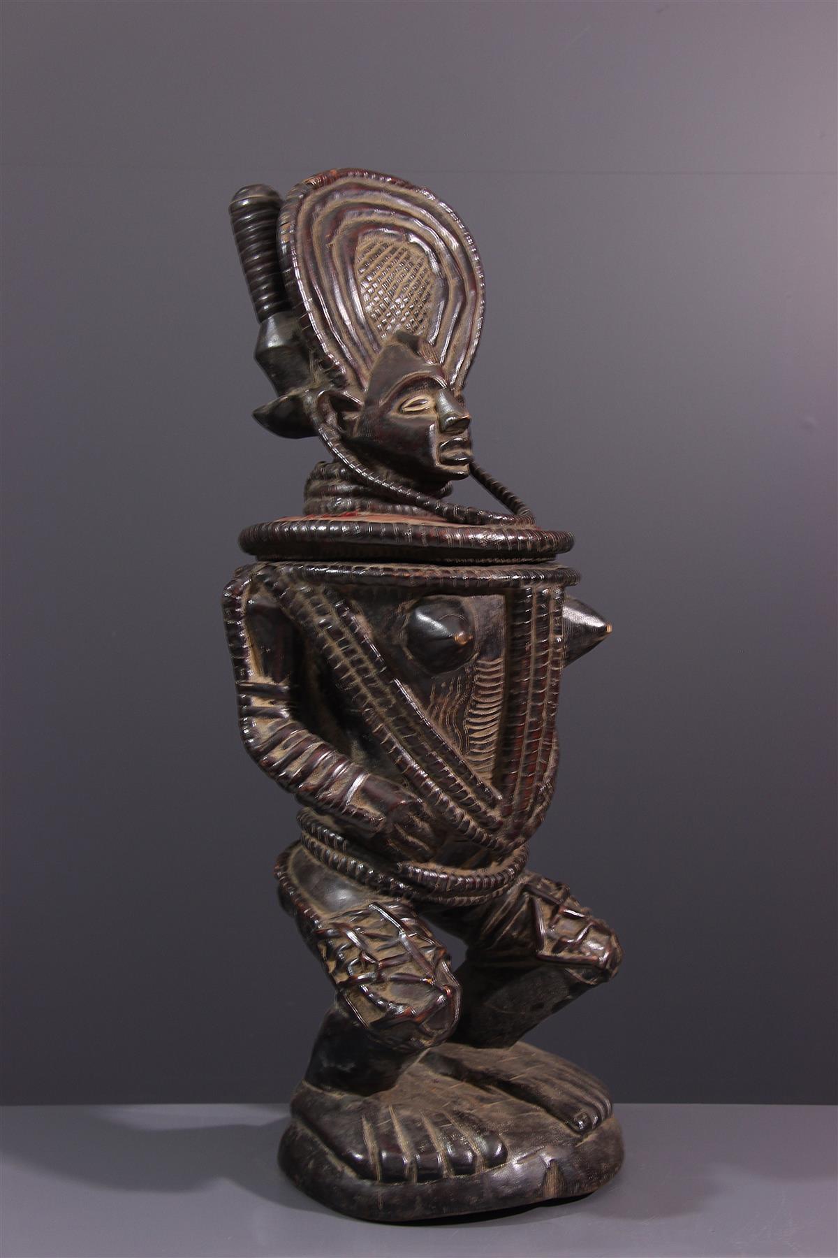 Coupe Chokwe - Art africain