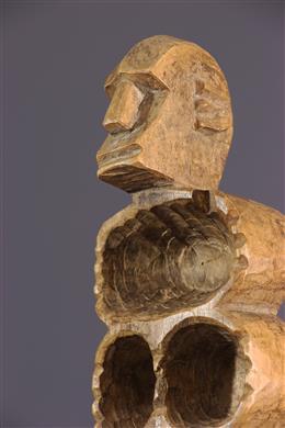 Planche de jeu Awalé Mankala - Bamana - Mali