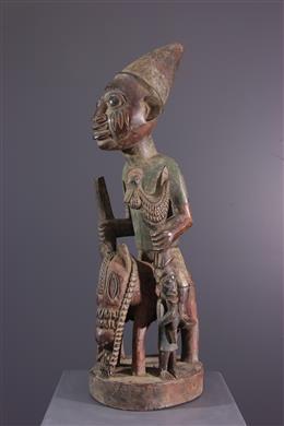 Figure de cavalier Yoruba