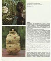 Pots, à divination, oracles, remèdes, onguentsVannerie Sénégal
