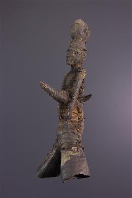 Statue Fétiche Kirdi Fali Cameroun