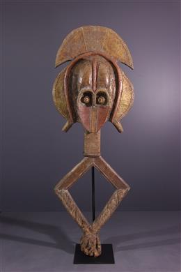 Grande figure de reliquaire Kota Mbulu-ngulu