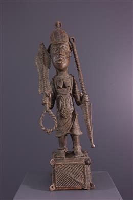 Statue de guerrier Bénin