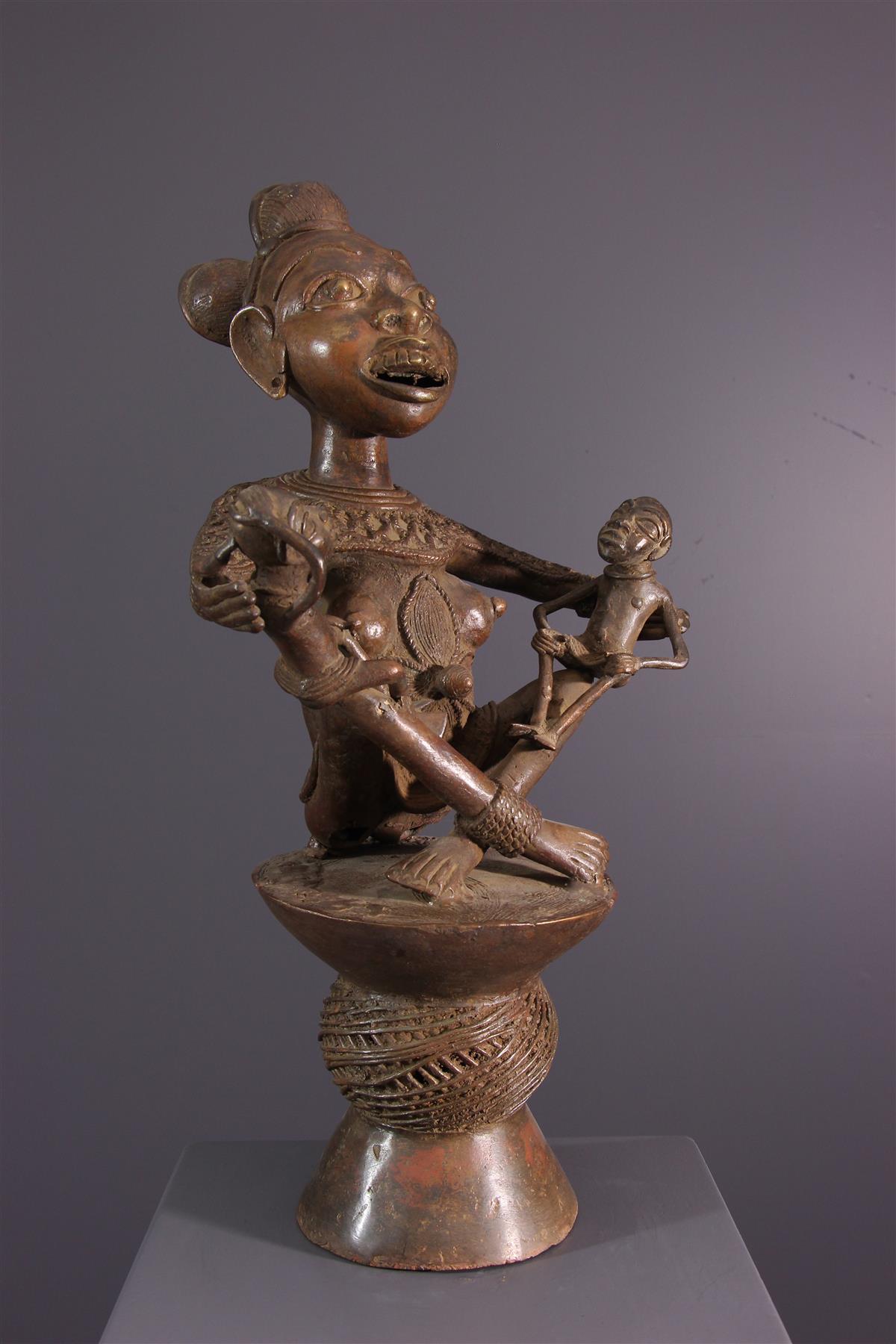 Statue Tikar - Art africain