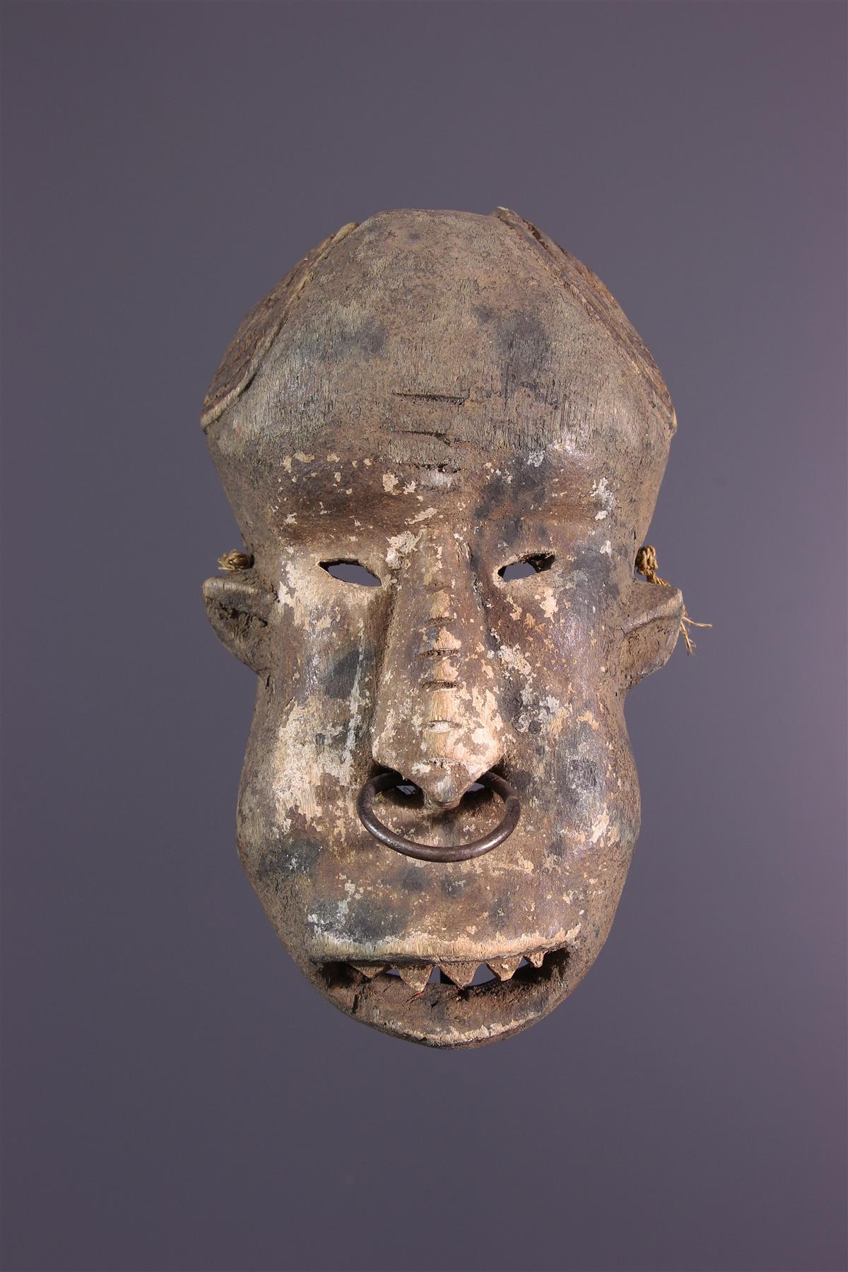 Masque Ngbaka - Art africain