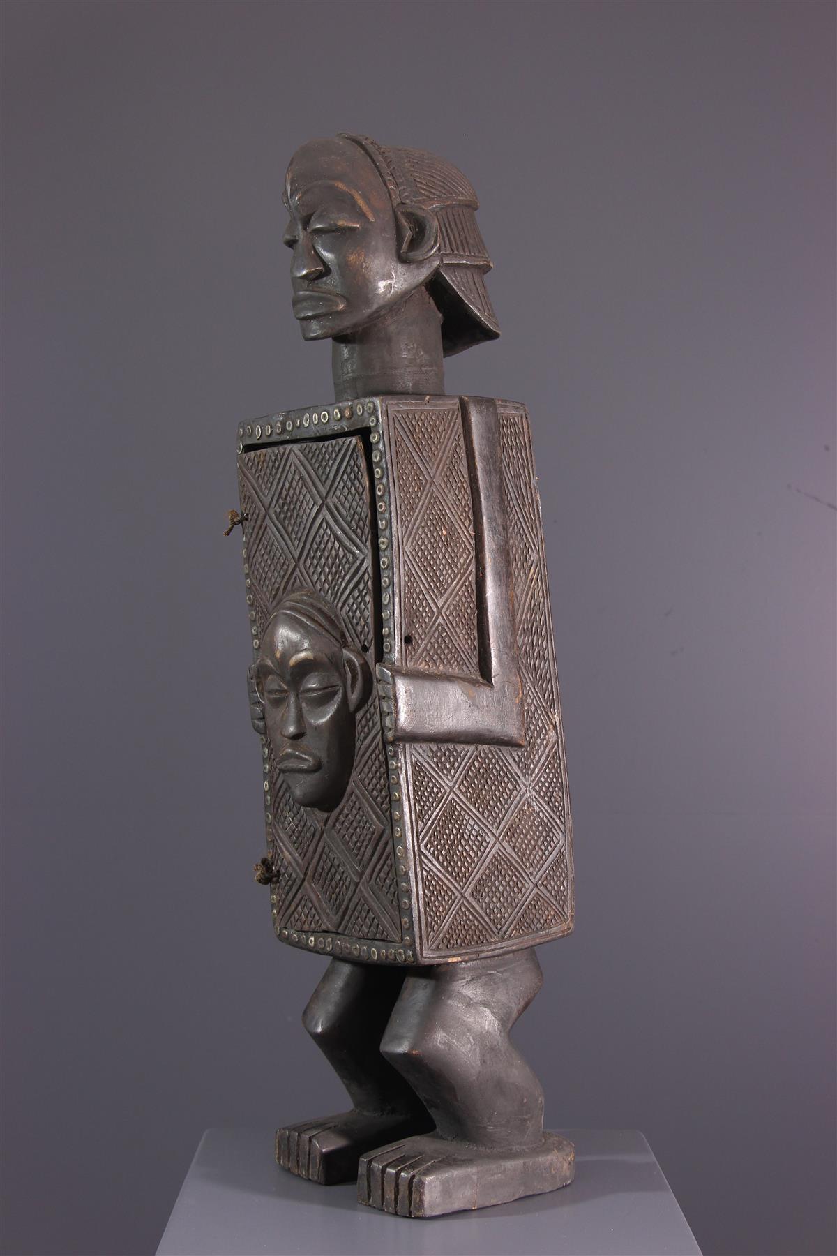 Boite Luba - Art africain