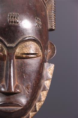 Grand masque Baoulé Ndoma du Goli