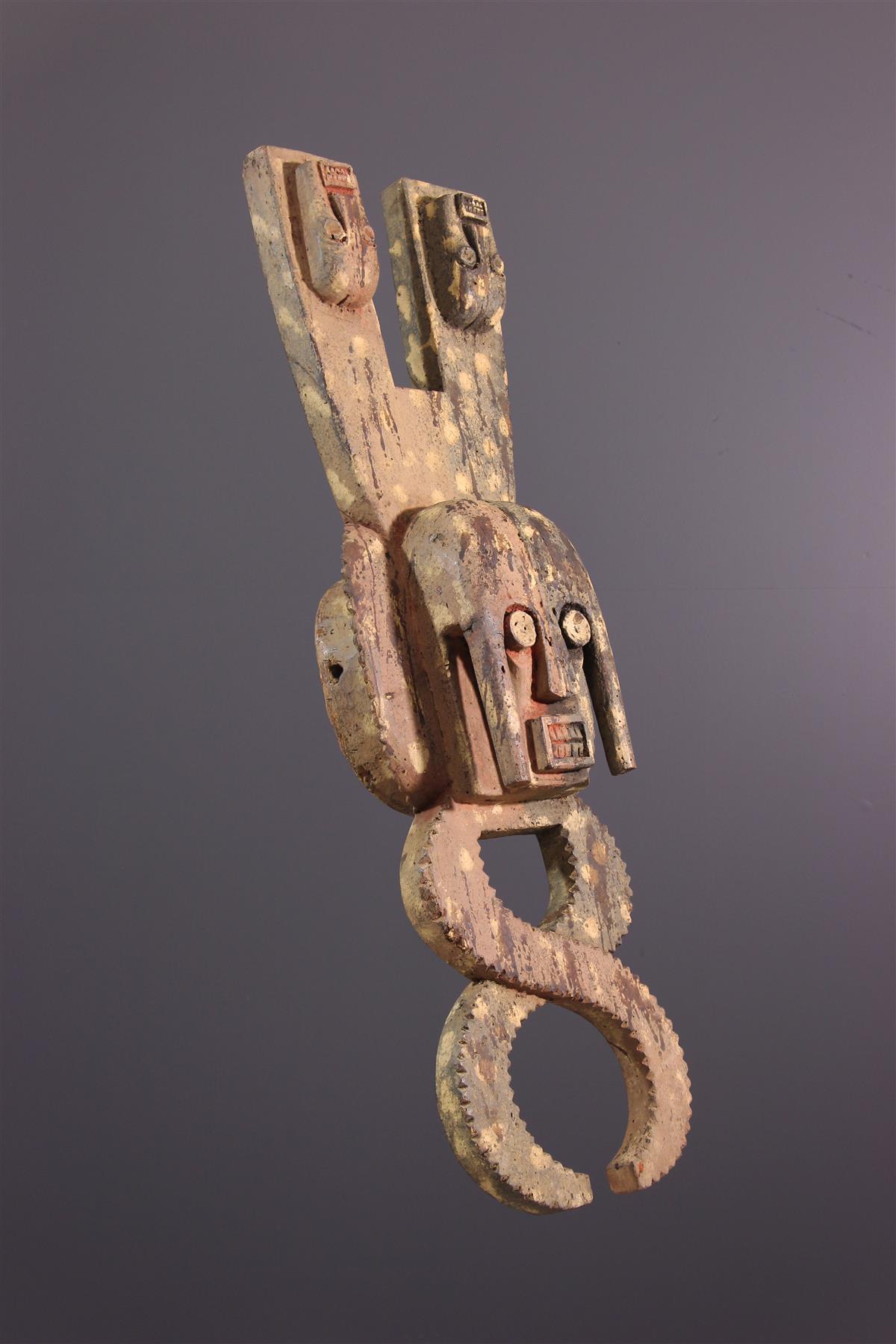 Masque-cimier Ijo - Art africain