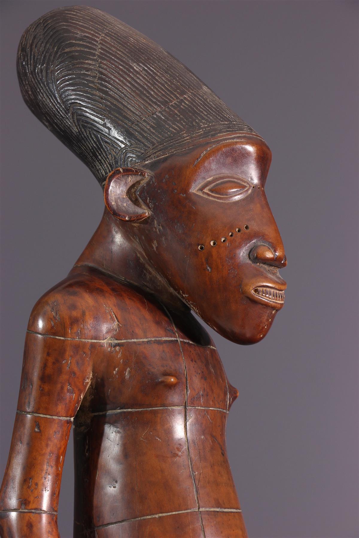 Statue Mangbetu - Art africain