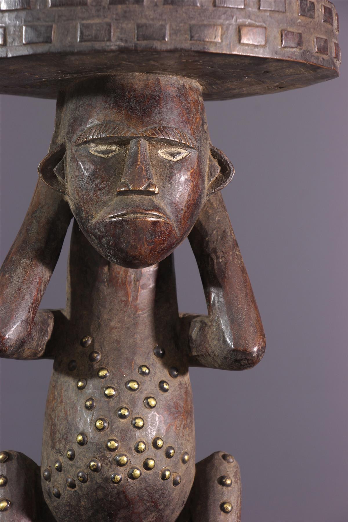 Tabouret Zande - Art africain