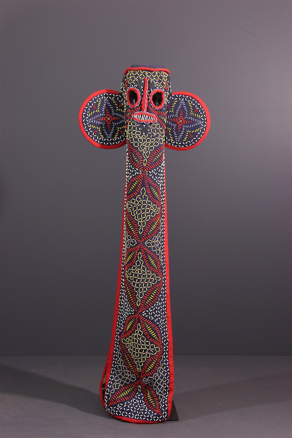 Masque éléphant Bamileke - Art africain