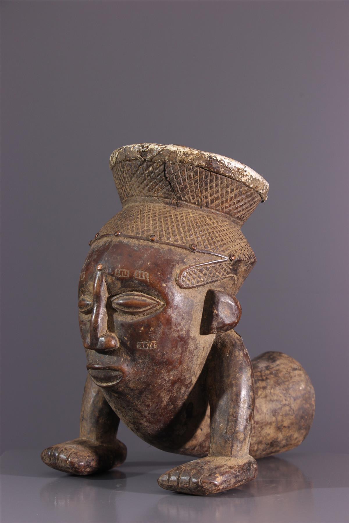 Pipe Kuba - Art africain