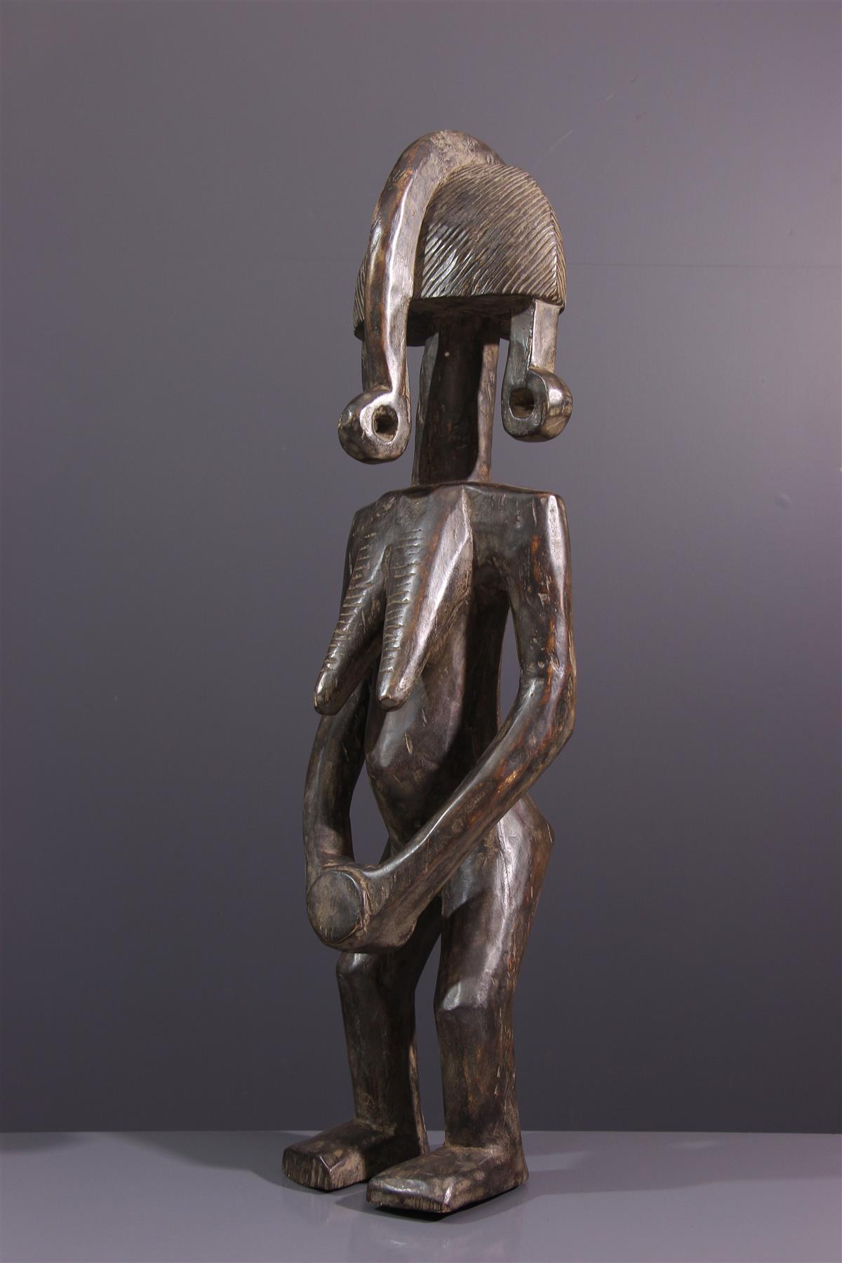 Statue Mossi Biga - Art africain