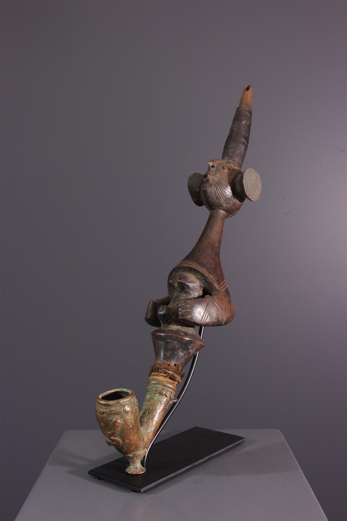 Pipe Mumuye - Art africain