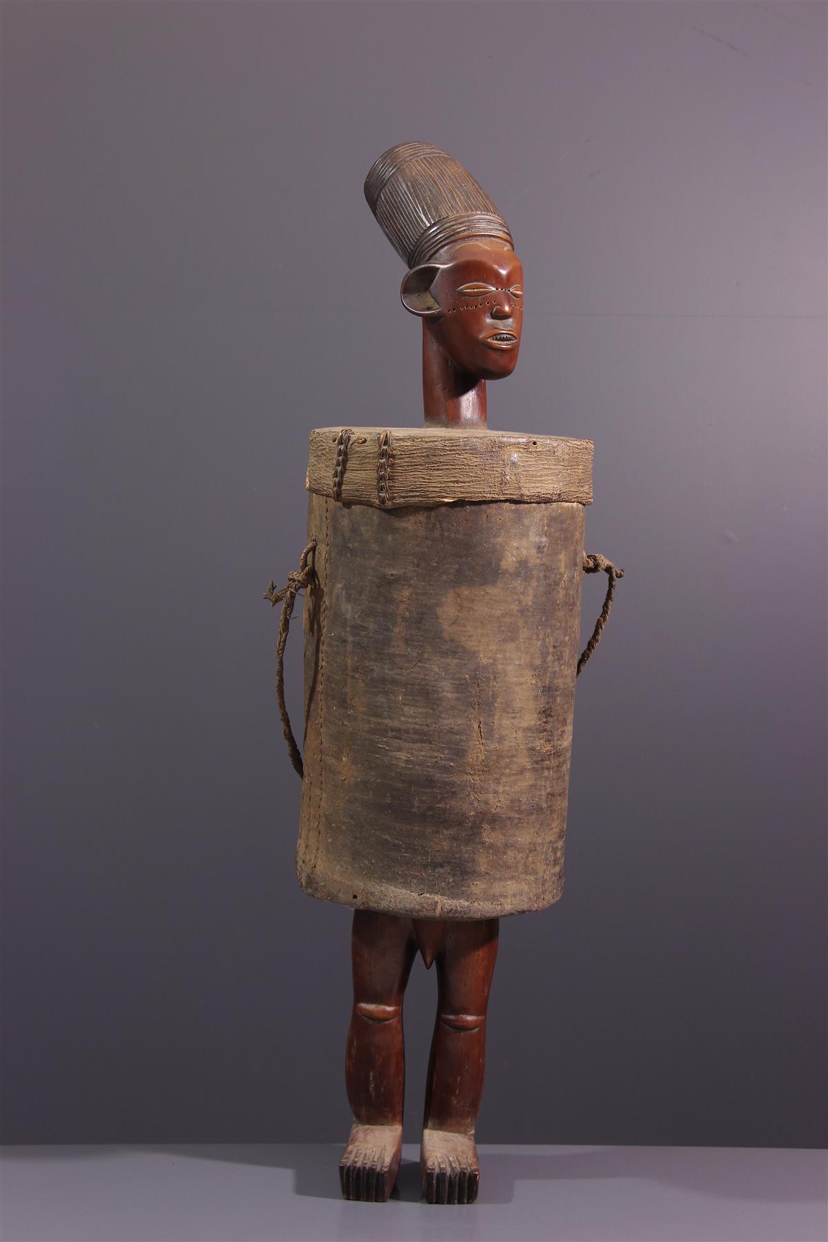 Boite Mangbetu - Art africain