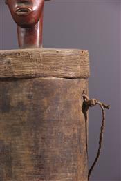 Pots, jarres, callebasses, urnesBoite Mangbetu