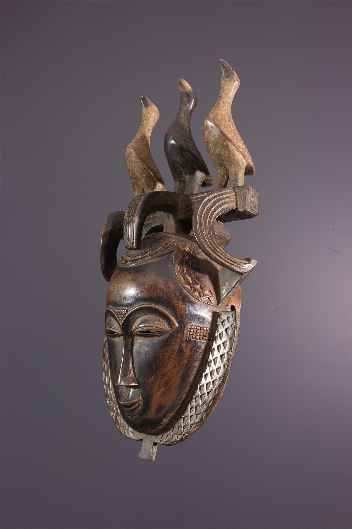 Masque Yohouré - Art africain