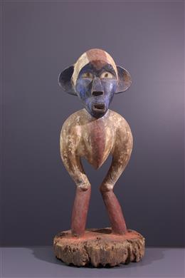 Statue rituelle Lumbu Nzighu