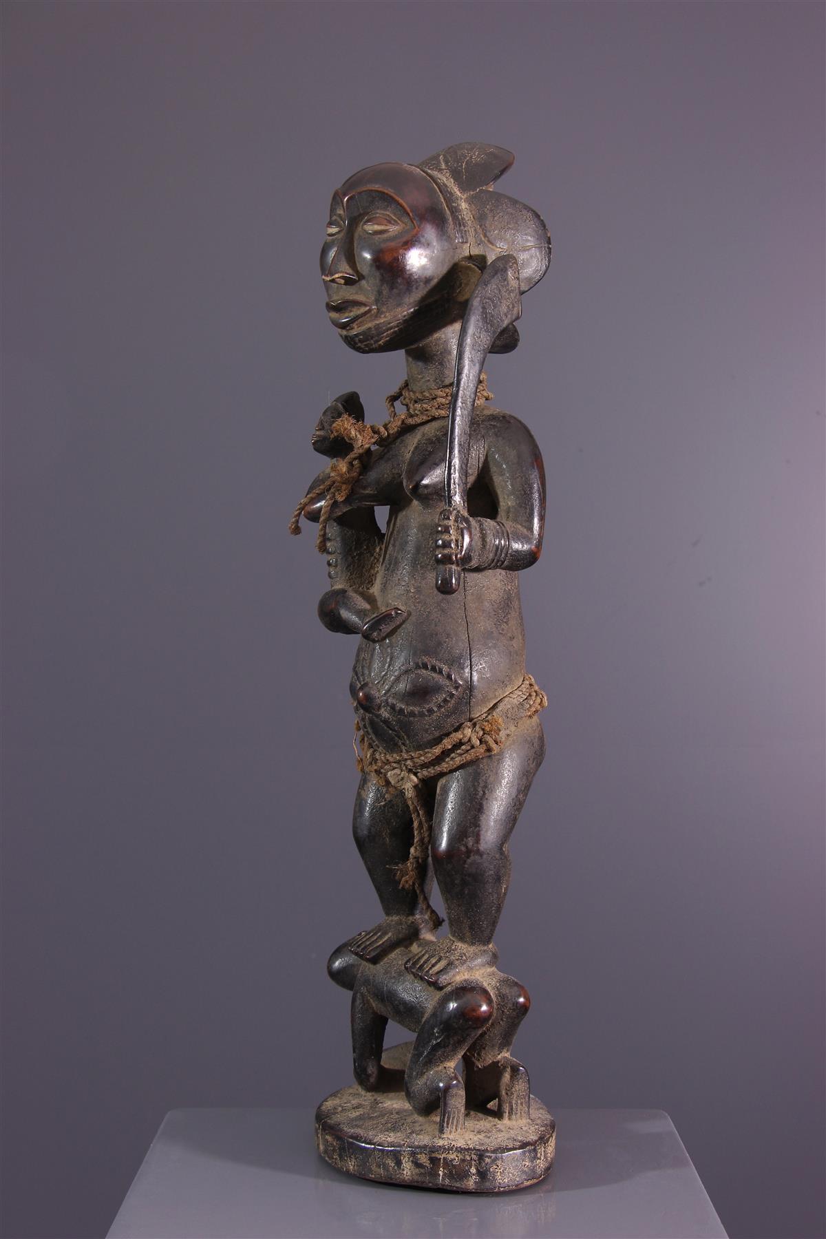 Statue Luba Hemba - Art africain