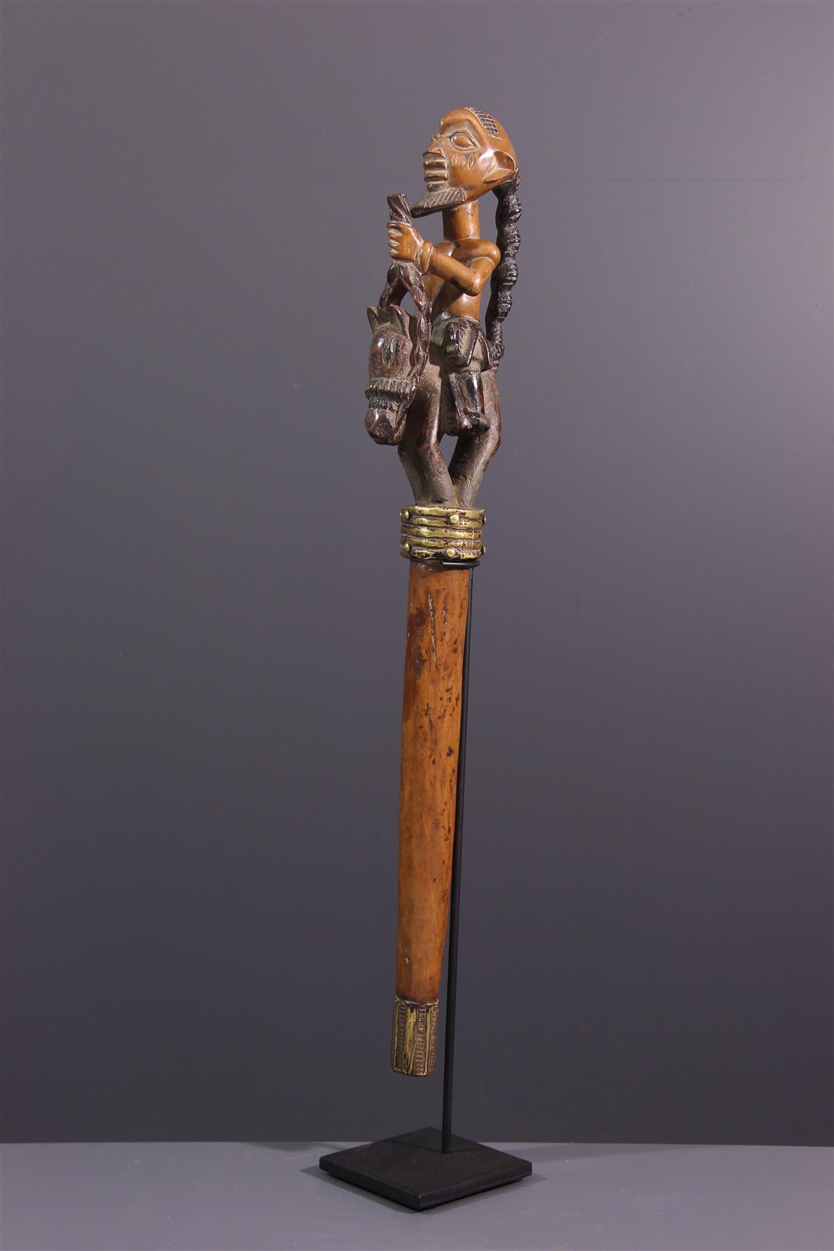 Sceptre Yorouba - Art africain