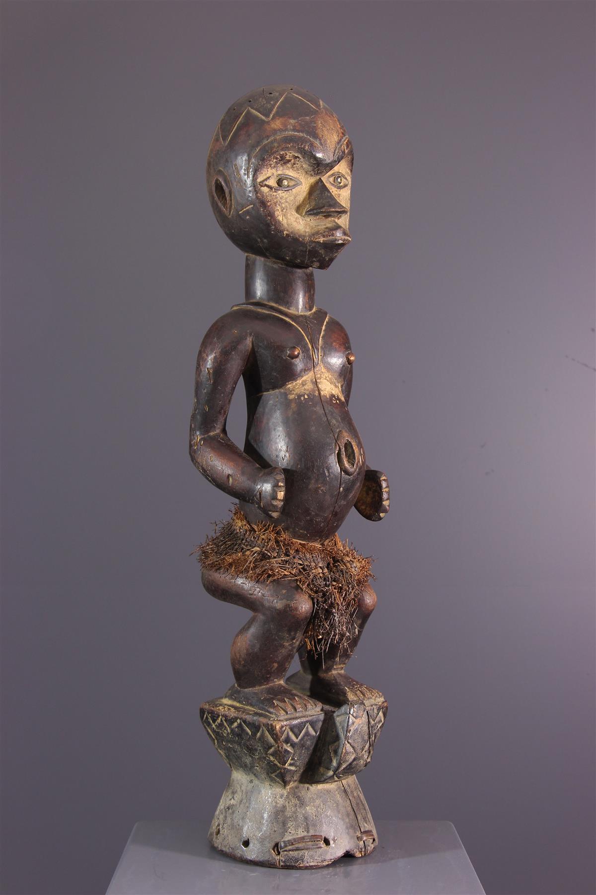 Statue Ibibio - Art africain