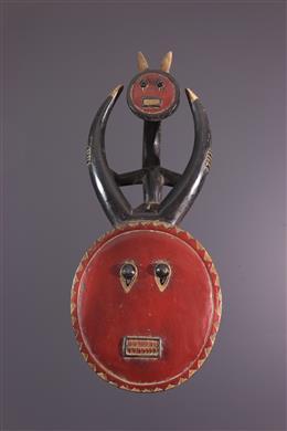 Masque Baoulé Kplékplé
