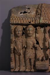 bronze africainPlaque Bénin