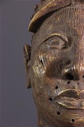 bronze africainTête Ilé-Ifé Ooni