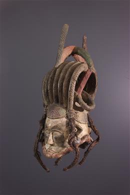 Masque cimier janiforme Igbo Ikorodo