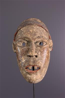 Masque Kongo Yombe Ngobudi