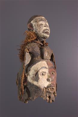 Masque heaume Kongo Nkisi