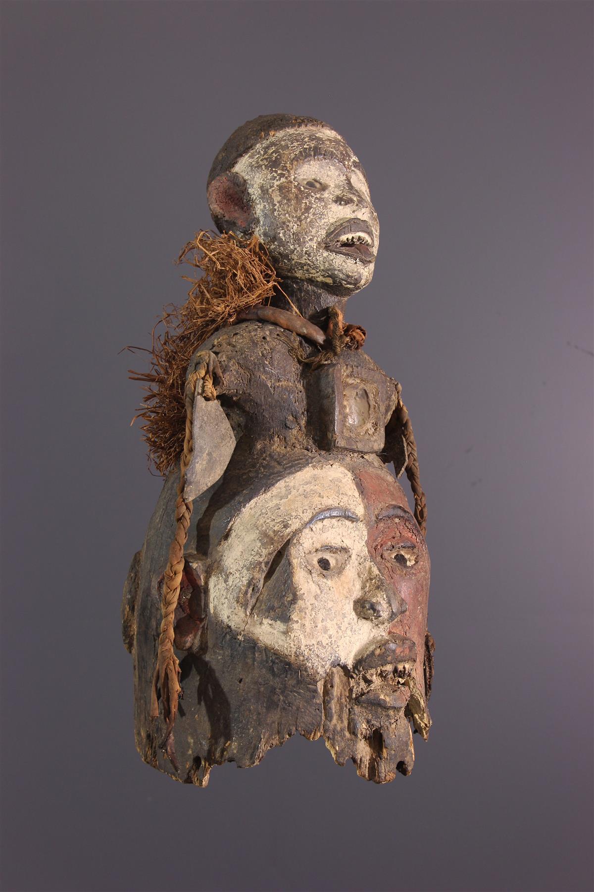 Masque Kongo - Art africain