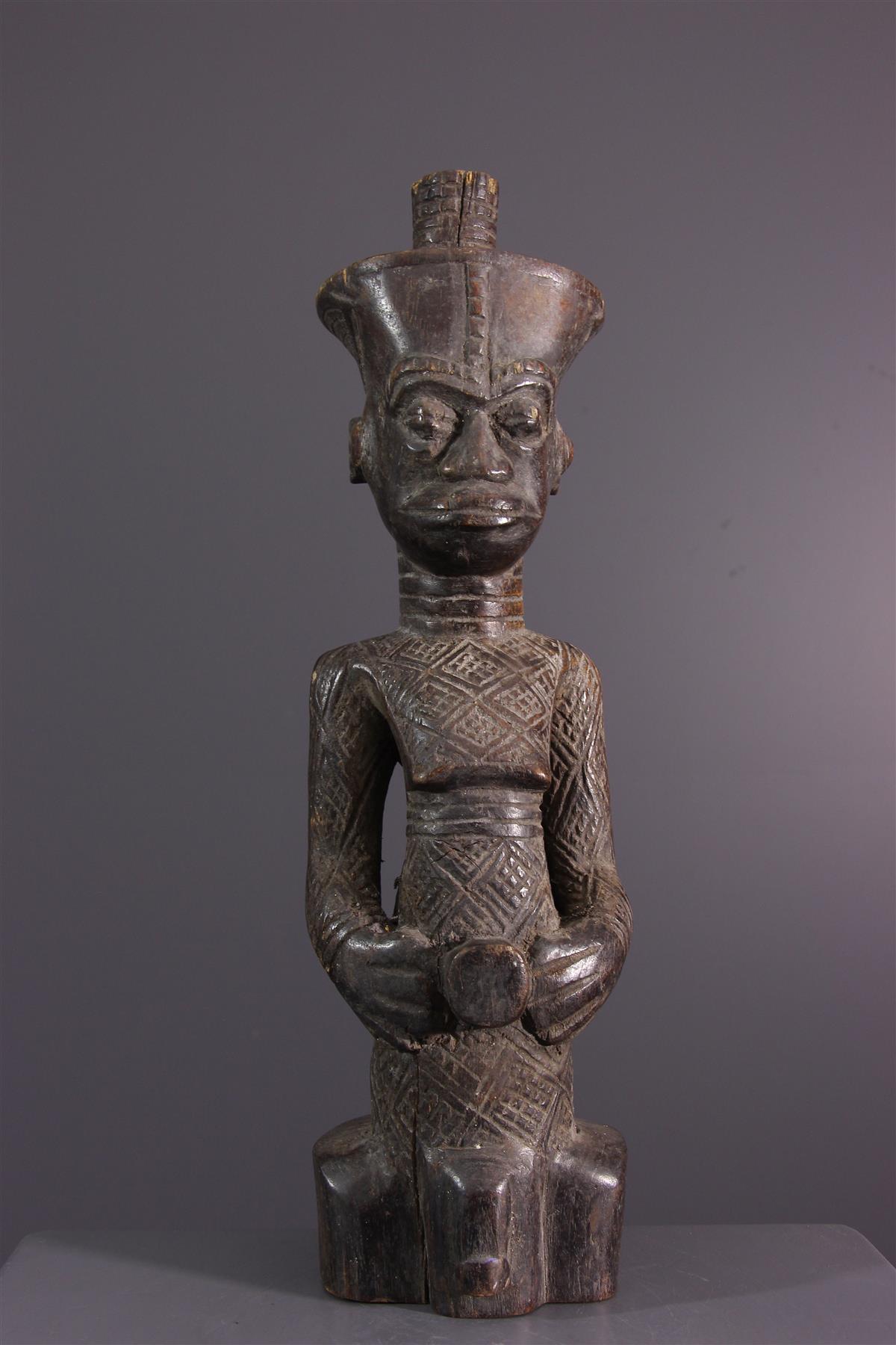 Statue Ndengese - Art africain