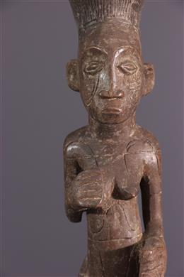 Figure féminine Mangbetu