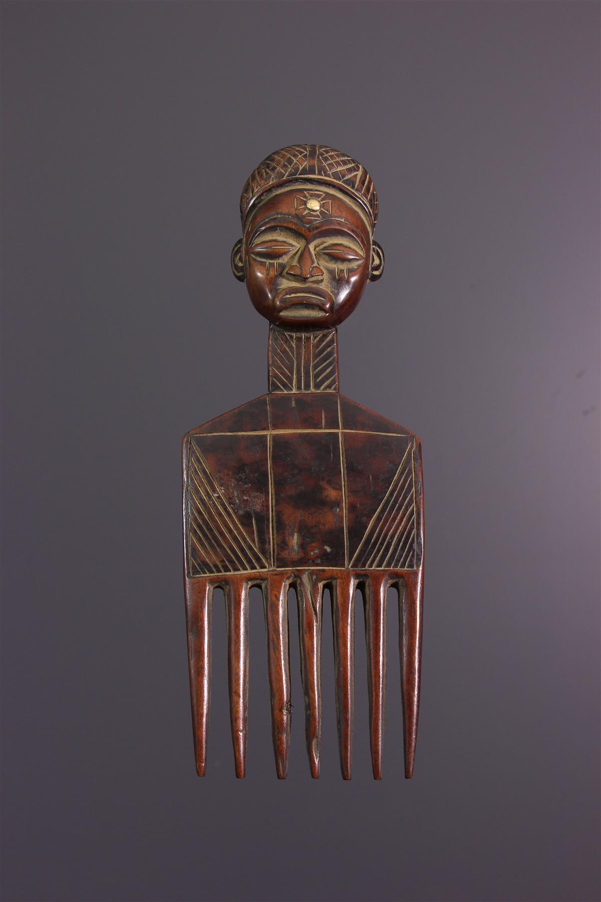 Peigne Chokwe - Art africain