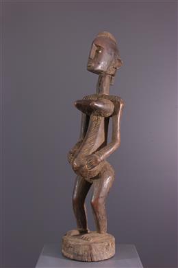 Art africain - Statue féminine Bambara