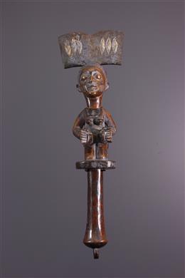 Sceptre Yoruba Osé Sango