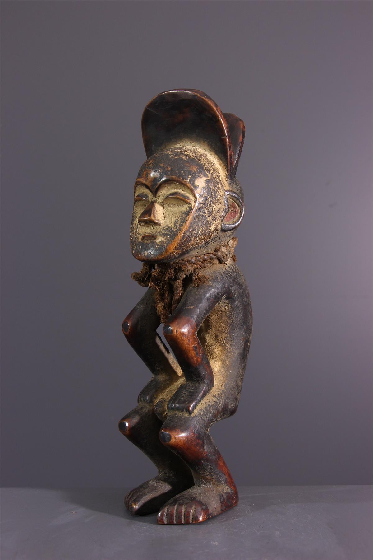 Statuette Mbole - Art africain