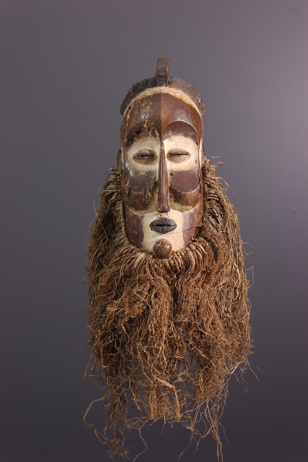 Masque Suku - Art africain
