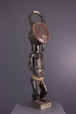 Art africain - Statue Asiè usu Baoulé