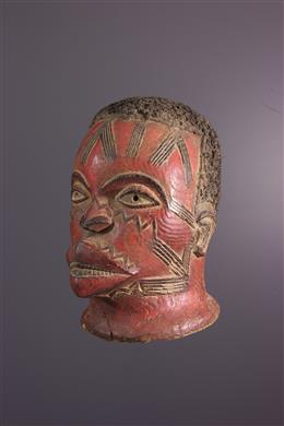 Masque africain Lipiko - Makonde - Tanzanie