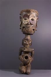 Instruments de musique, harpes, djembe Tam TamTambour Luba