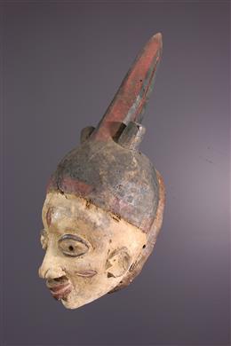 Masque cimier Gelede Yoruba