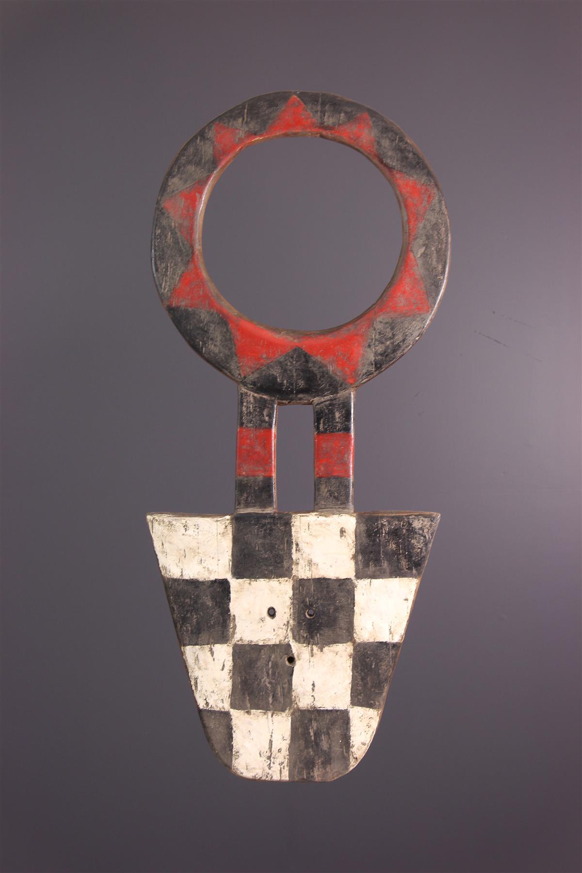Masque Bedu - Art africain