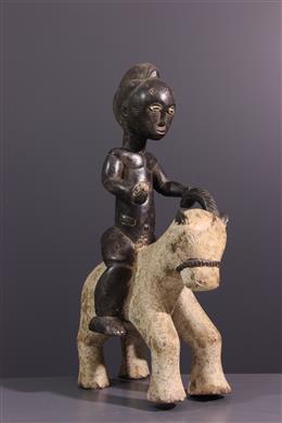 Cavalier Baoulé