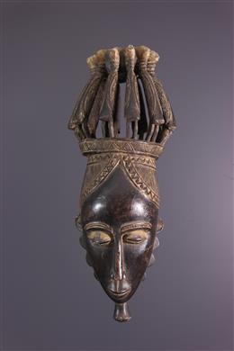 Grand Masque Baoulé Kpan