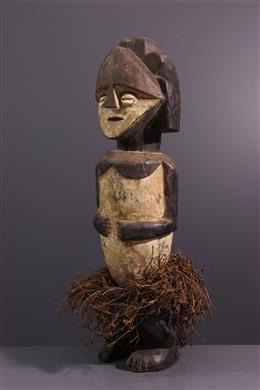Art africain - Statue reliquaire Mbete, Ambete