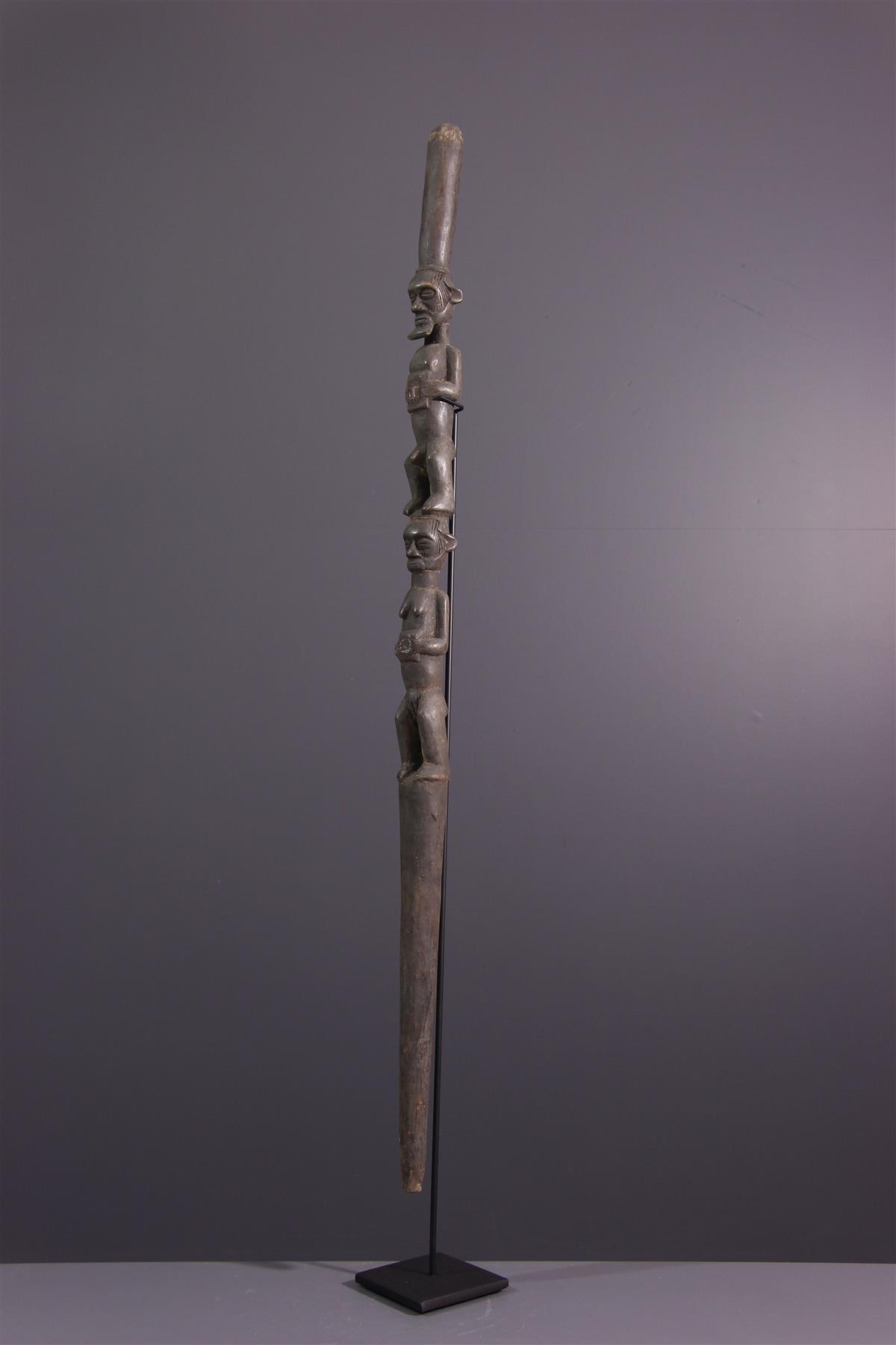 Sceptre Teke - Art africain