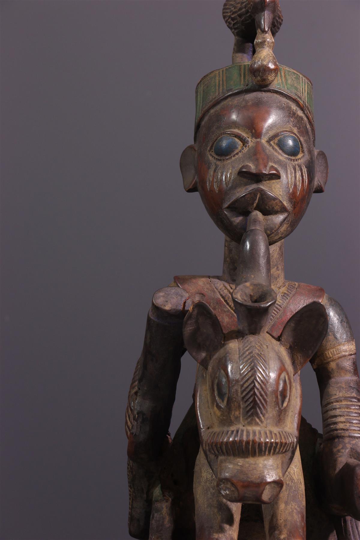 Cavalier Yorouba - Art africain